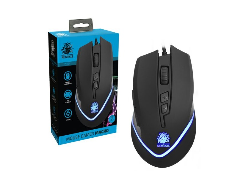 Mouse Gamer Nemesis MG-01N