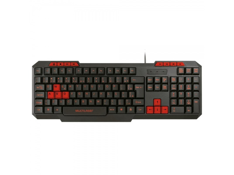 Teclado Gamer Multilaser TC242